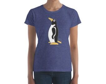 Penguin Park Penguin Illustration Women's Tee
