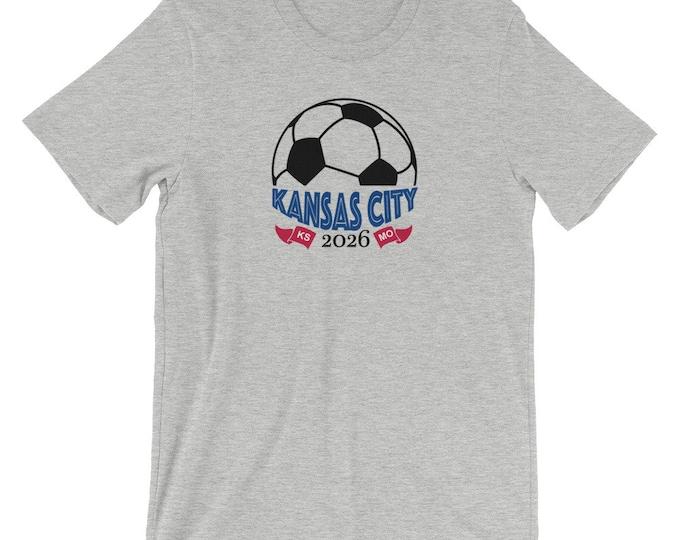 Kansas City Soccer 2026 - Short-Sleeve Unisex T-Shirt