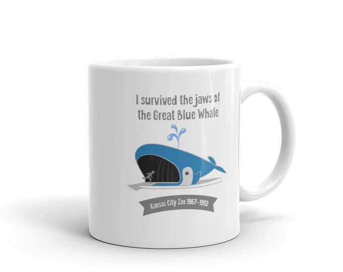 The Great Blue Whale - Mug