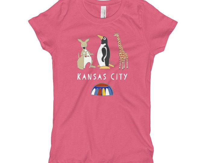 Penguin Park Kansas City Girl's T-Shirt