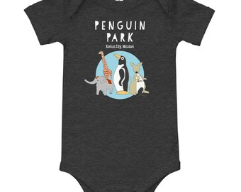 Baby's Penguin Park One-piece
