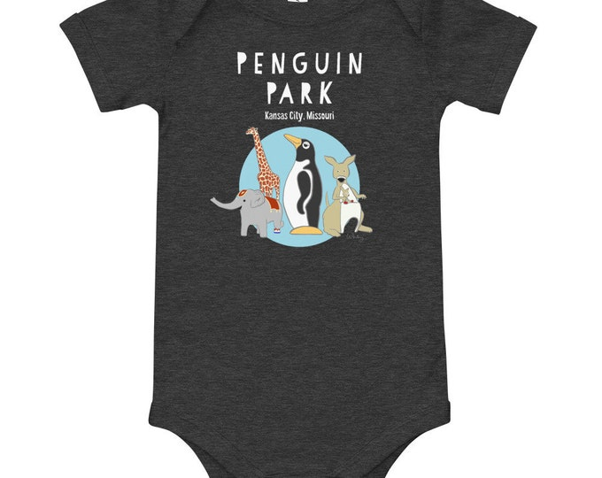 Baby's Penguin Park One-piece