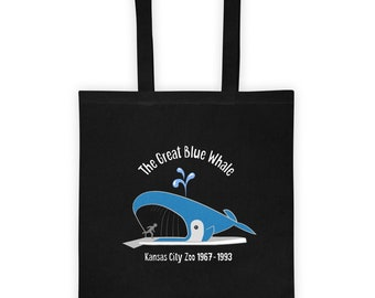 The Great Blue Whale - Tote Bag