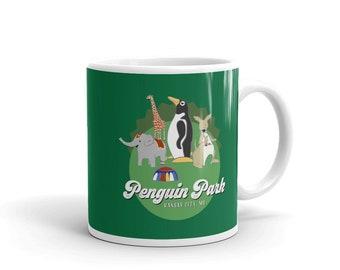 Penguin Park Animals Mug