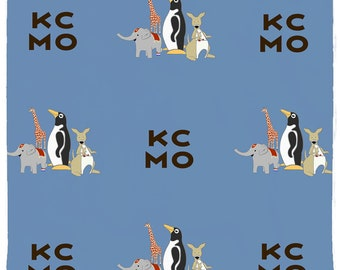 Penguin Park / KCMO Square Pet Bandana