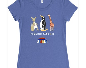 Penguin Park KC Women's Tee