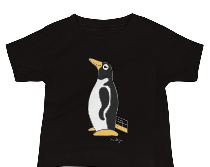 Penguin Park Penguin Illustration Baby Tee