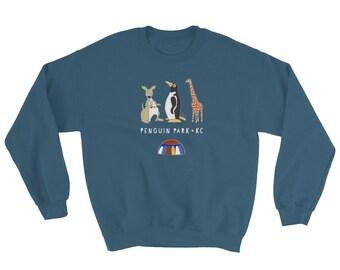 Penguin Park KC - Crew Neck Sweatshirt