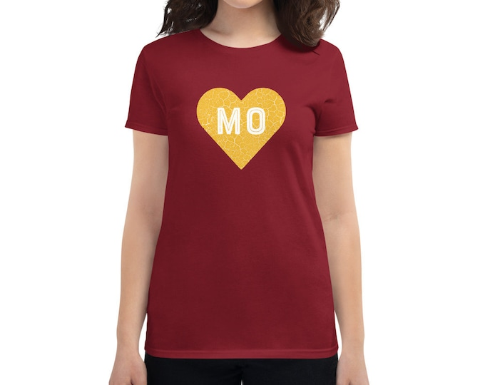 Pure Missouri Heart of Gold Women's T-Shirt