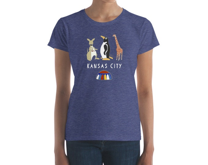Penguin Park Kansas City Women's T-shirt