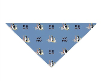 Penguin Park / KCMO Triangle Pet Bandana