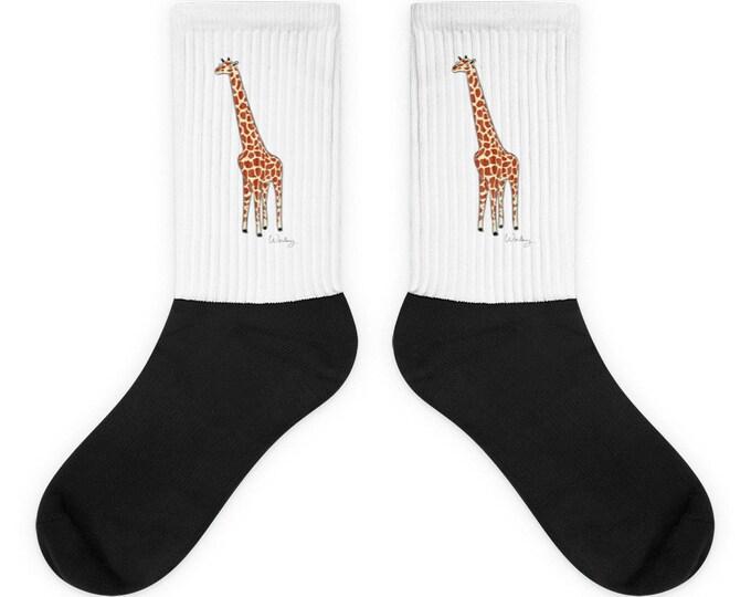 Penguin Park Giraffe Socks