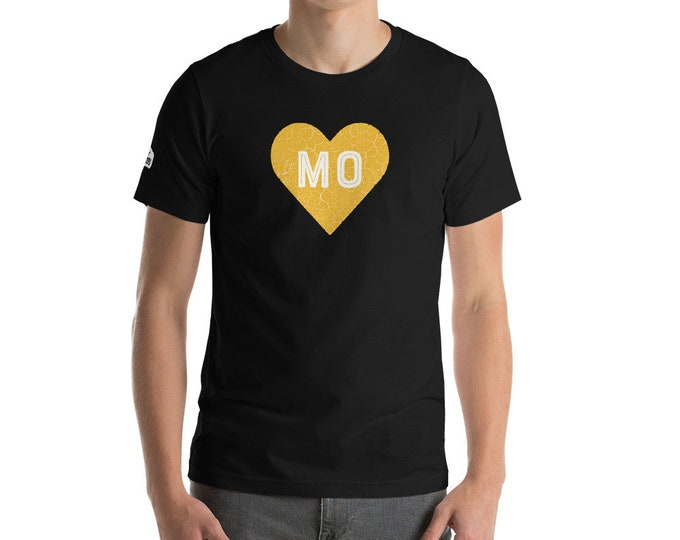 Pure Missouri Heart of Gold Unisex T-Shirt