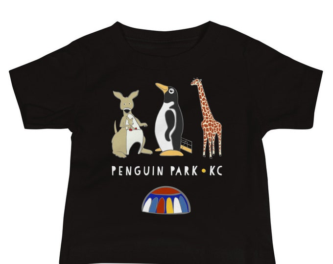 Penguin Park KC Illustration Baby Tee
