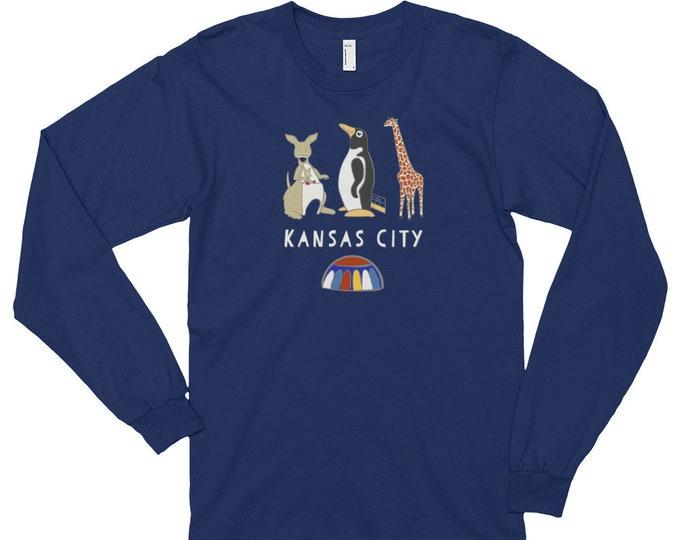 Penguin Park Kansas City - Long-Sleeve Unisex T-Shirt