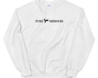Pure Missouri Wide Logo Sweatshirt