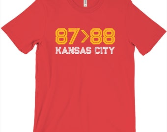 87>88 KC Tight Ends T-Shirt
