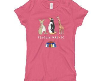 Penguin Park KC Girl's T-Shirt