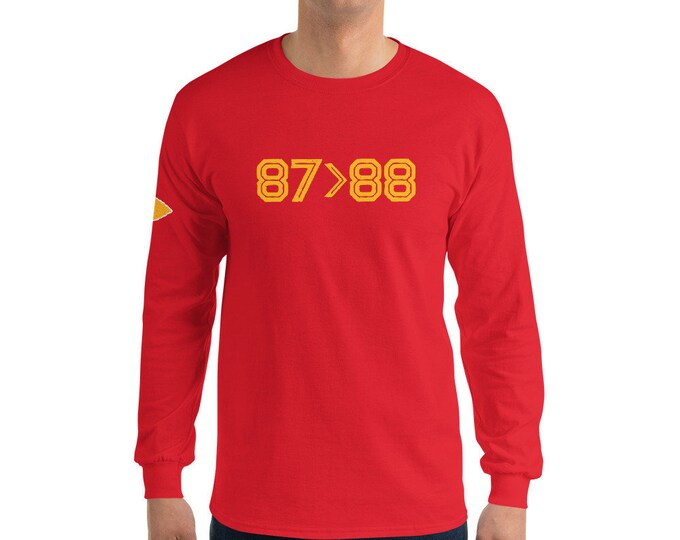 87>88 Tight Ends Long Sleeve Tee