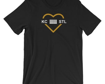 MO Love Black and Gold Unisex T-Shirt