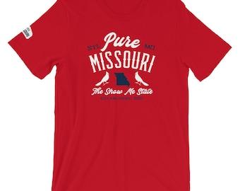 Pure Missouri St. Louis Baseball Tee