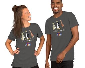 Penguin Park KC - Short-Sleeve Unisex T-Shirt