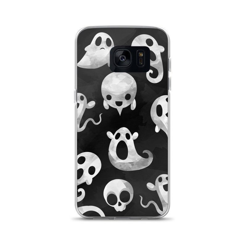 sports shoes 76dba 5cae1 Spooky Ghost Phone Case for Samsung Phones // Halloween Phone Case, Spoopy  Phone Case, Kawaii Phone Case