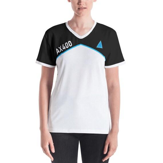dbh kara casual cosplay shirt detroit kara ax400 dbh etsy