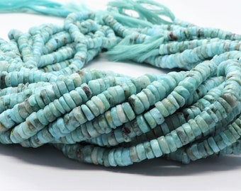 80005583-921 x10 10 Strands Larimar Quartz Gemstone Grade AAA Sky Blue 14x10mm Barrel Drum Loose Beads 15 inch Full Strand BULK LOT