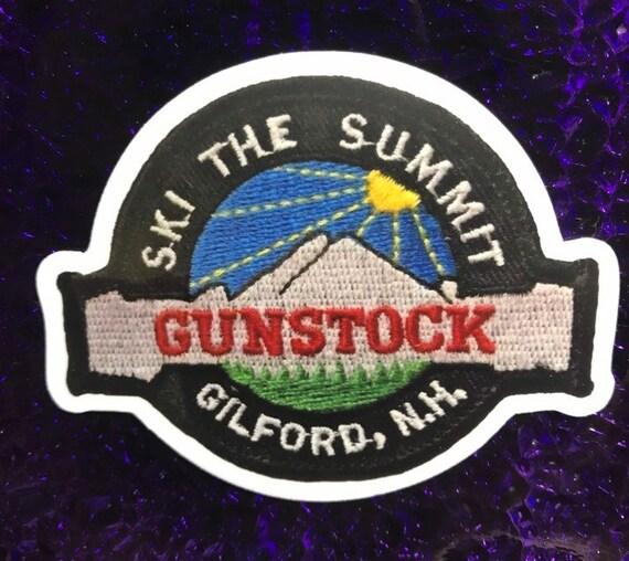 Gunstock Resort Sticker Skiing