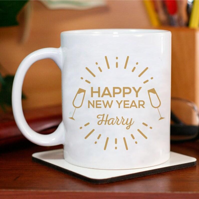 New Years Eve Decorations 2021 Happy New Year Mug | Etsy