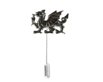 36b0097785e54 Welsh Dragon on a tie stick pin