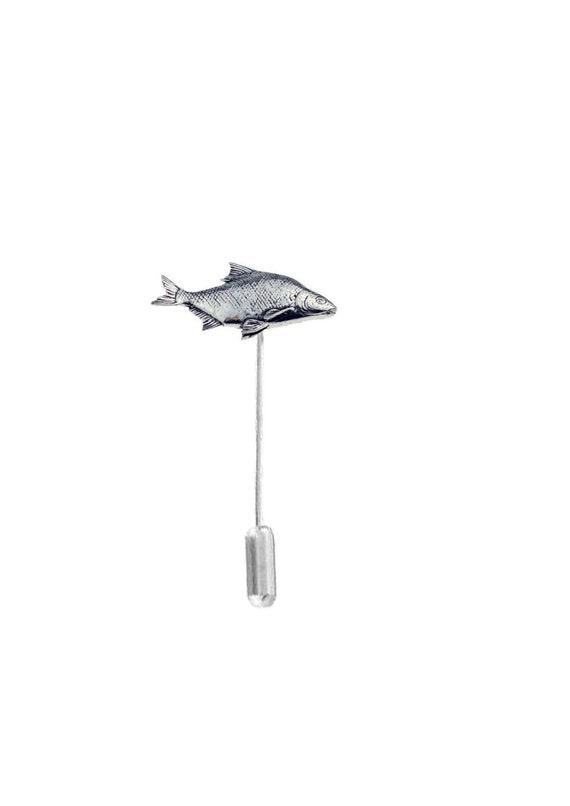 44e338649ba25 Bream fish on a tie stick pin hat pin scarf collar