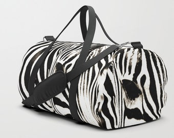 106170046907 Zebra duffle bag