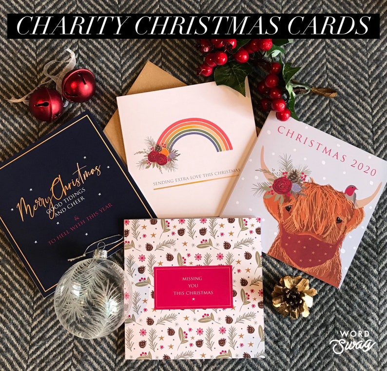 Pre-Order charity Christmas cards  Covid Christmas cards  image 0