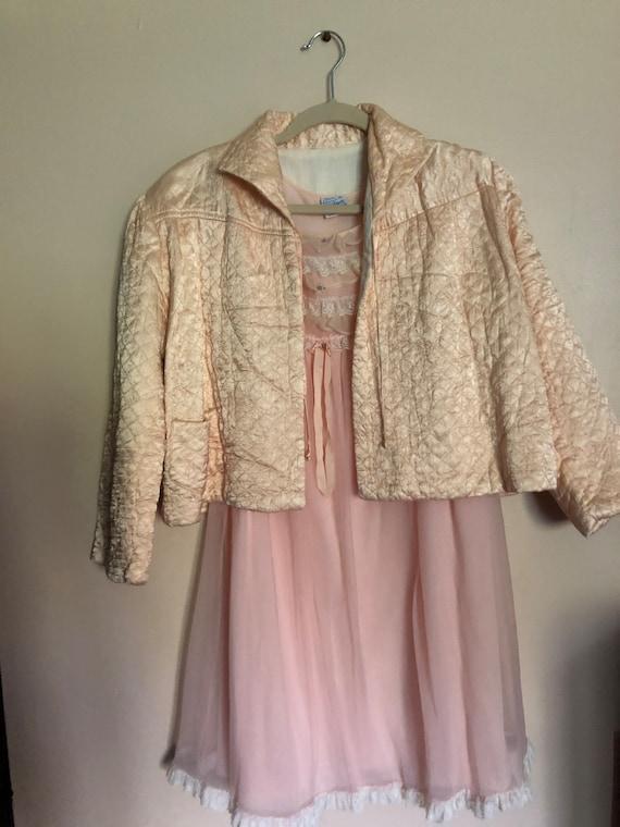 Vintage Babydoll Nightdress w/ Jacket