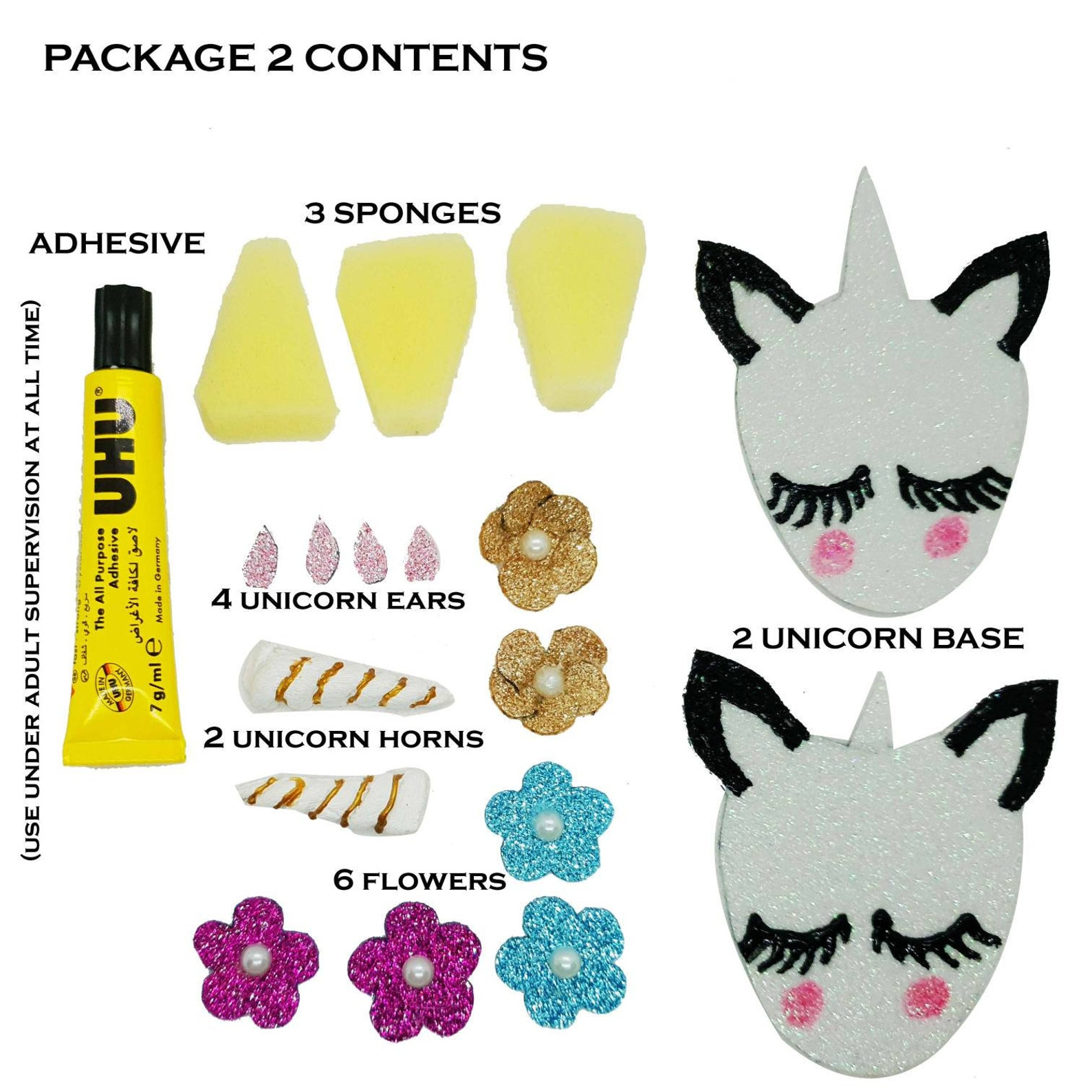 handmade ballet flats unicorn, slip-on, mules, shoes diy activity for girls kids, pink shoes, glitter shoes, khussa