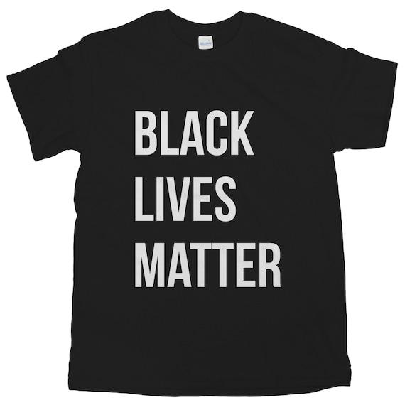 Black Lives Matter Tee BLM T-shirt Black Activist Shirt Social | Etsy