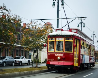 New Orleans Trolly Canvas