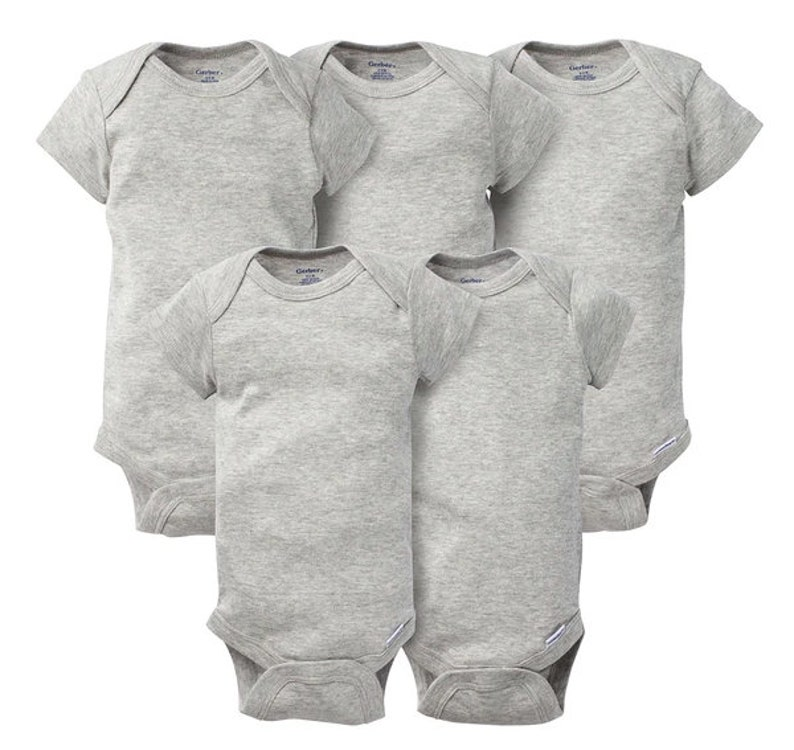 Newborn Baby Live Laugh Poop Baby Bodysuit Cute Baby Clothes Pink Blue Gray Baby Boy and Girl Baby Shower Gift