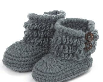 Mutter & Kinder Baby Mädchen Kinder Kleinkind Winter Warme Fleece Knited Schnee Stiefel Booties Schuhe Neugeborenen Mädchen Anti-slip Woolen Häkeln Mokassins Stiefel