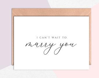 I Do Groom Card, I Do Bride Card, Wedding Day Card, Card For Groom, Love Card, To My Husband, To My Wife, To My Fiancé, Newlywed