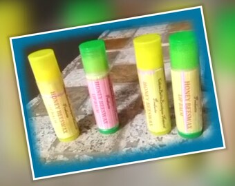 Chini Bee's Honey Beeswax  Lip Balm