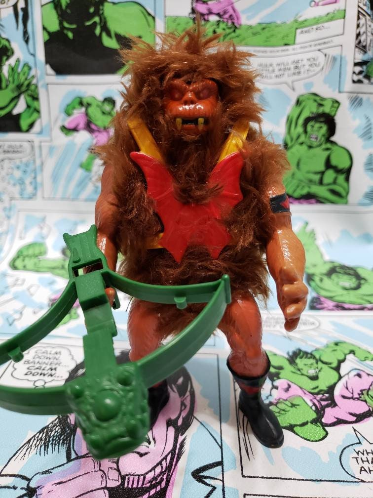 Grizzlor Masters of the Universe MOTU Evil Horde Hairy Henchman 1985 Wave 4 bear