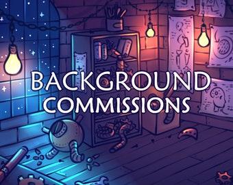 Digital Art Background Commissions