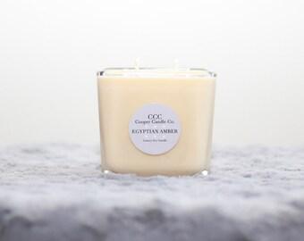 Egyptian Amber Luxury Soy Candle