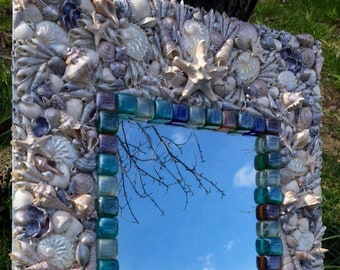 Beautiful Mirror with sea shells