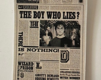 picture regarding Harry Potter Daily Prophet Printable called Each day prophet Etsy