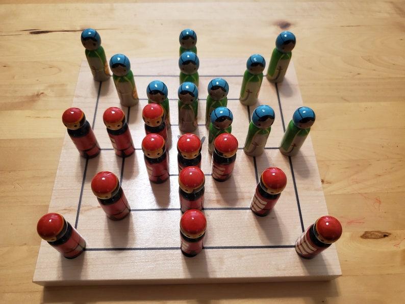 Nine Men's Morris and Alquerque Ancient Board Games image 0