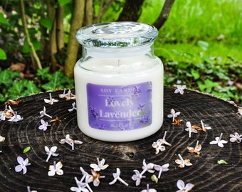 Lavender Soy Candle - 22oz Apothecary